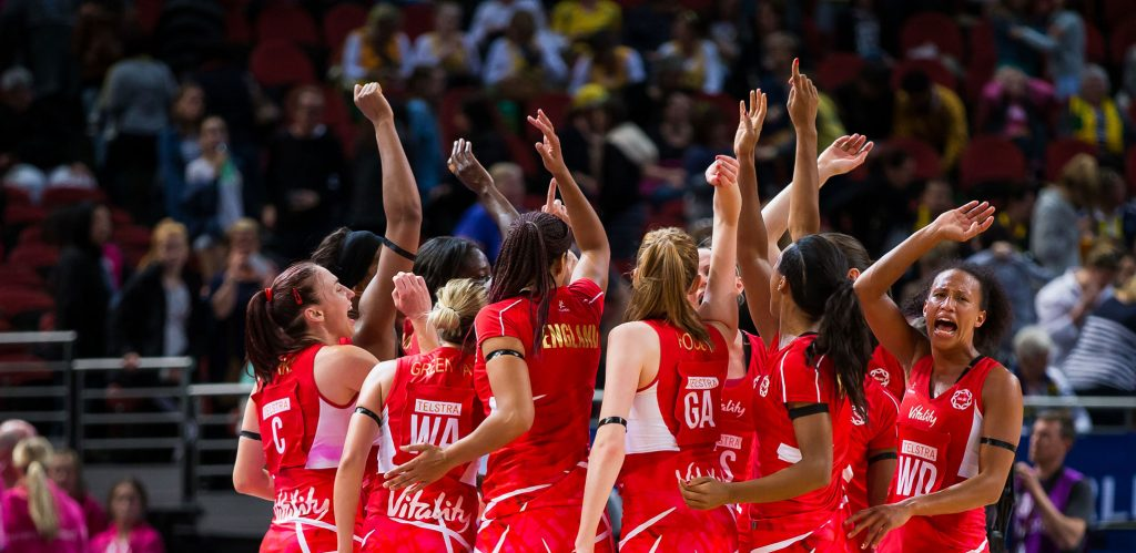 England at the Netball World Cup