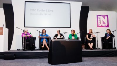BBC 5 Live panel at the Women's Sport Conference: transforming sport in October 2014
