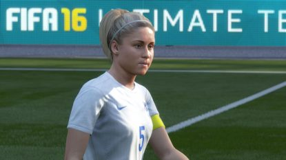 FIFA 16 image of England captain Steph Houghton