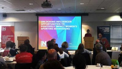 Women in Sport team presenting at the 2015 Insight Series