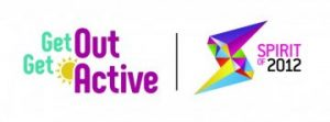 Get Out Get Active Spirit of 2012 logo