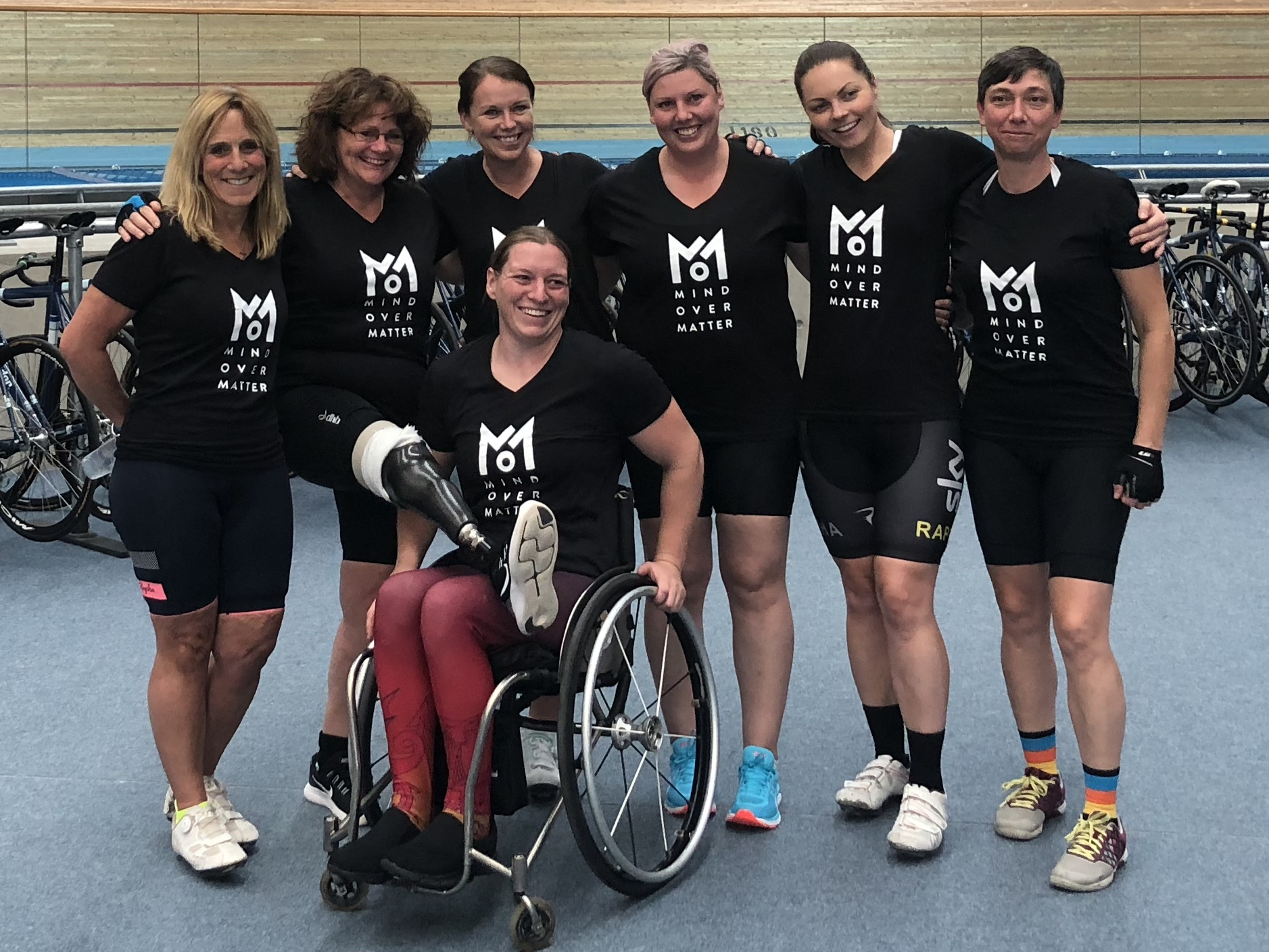 Mind Over Matter team tackle Race Across America for Women in Sport