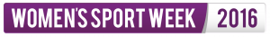 Women's Sport Week 2016 logo