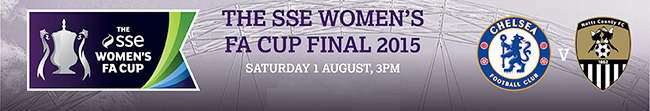 The SSE Women's FA Cup Final 2015