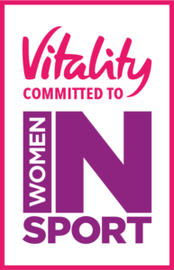 Vitality and Women in Sport logo